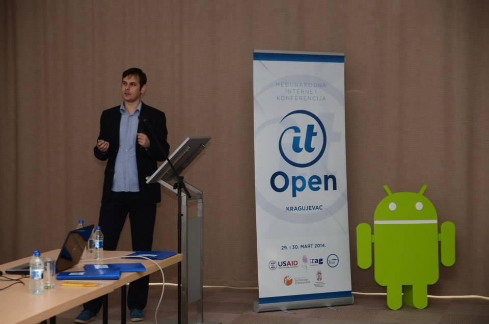 Ivan Muljevski tokom svog predavanja