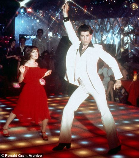Disco dance iz filma Groznica subotnje večeri